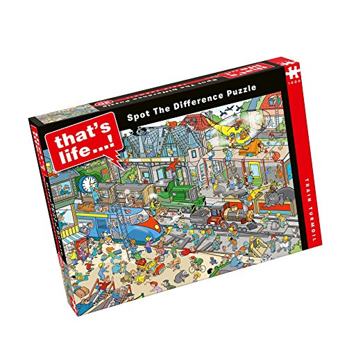 Paul Lamond That's Life Kitchen Chaos 1000 Piece Jigsaw Puzzle -  6575