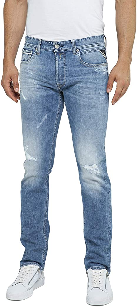 REPLAY Grover Straight Jeans Uomo