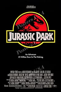 "Posters USA - Jurassic Park Original Movie Poster Glossy Finish - MOV461 (24"" x 36"" (61cm x 91.5cm))"