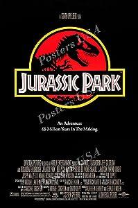 "Posters USA - Jurassic Park Original Movie Poster Glossy Finish - MOV461 (24"" x 36"" (61cm x 91.5cm))"