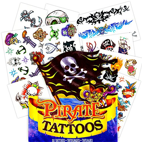 Pirate Tattoos - 50 Tattoos with Pirate -