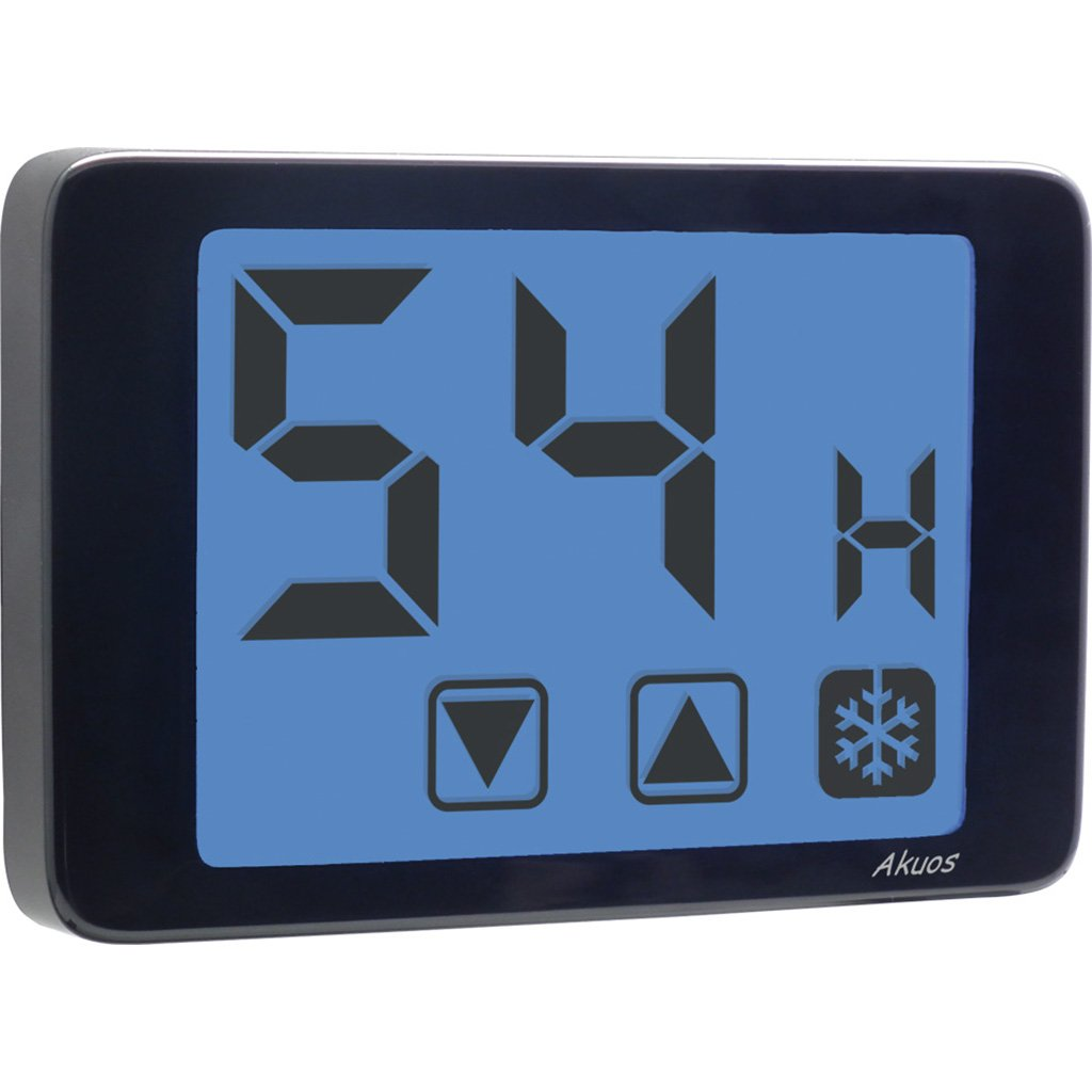 Vemer SpA Humidostato Akuos Touch Screen de pared Color blanco 230V
