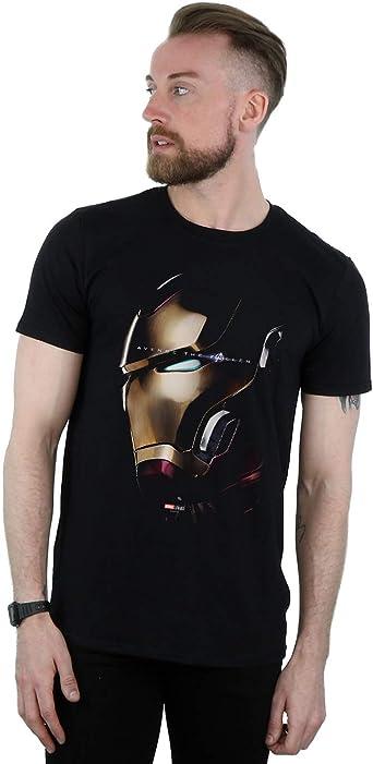 Marvel Ni/ños Avengers Endgame Avenge The Fallen Iron Man Camiseta