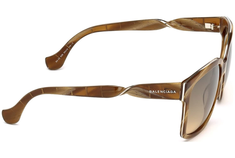 Balenciaga Damen Sonnenbrille BA0053 5562B, Braun, 52