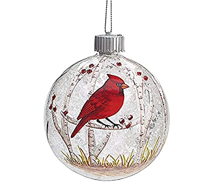 burton and burton 9727670 led red cardinal christmas ornament multicolor - Red Cardinal Christmas Decorations