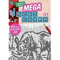 Mega-Nonogramm 03 (Mega Nonogramm Mappe)