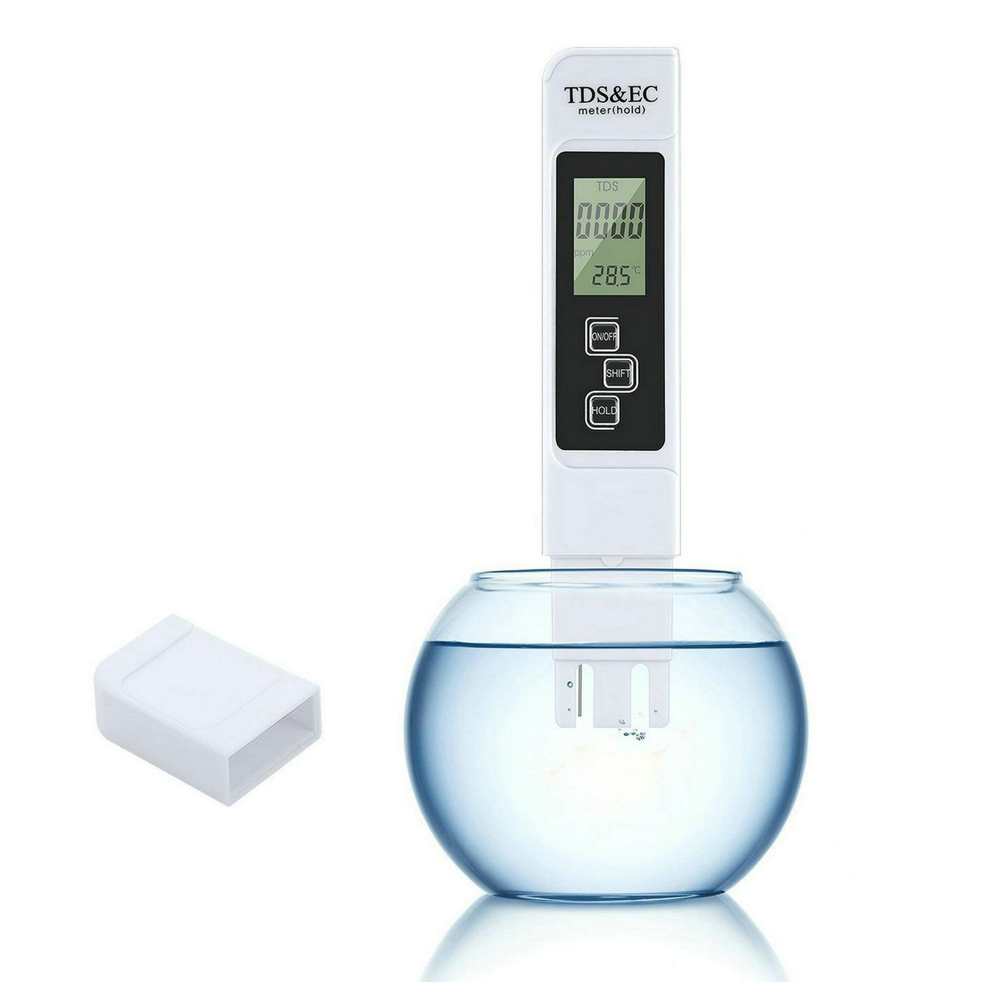 GuDoQi 3 in 1 Water Quality Tester Professional TDS EC Meter Water Hardness Purity Temperature Tester for Household Drinking Water Hydroponics Aquariums Swimming Pools by GuDoQi