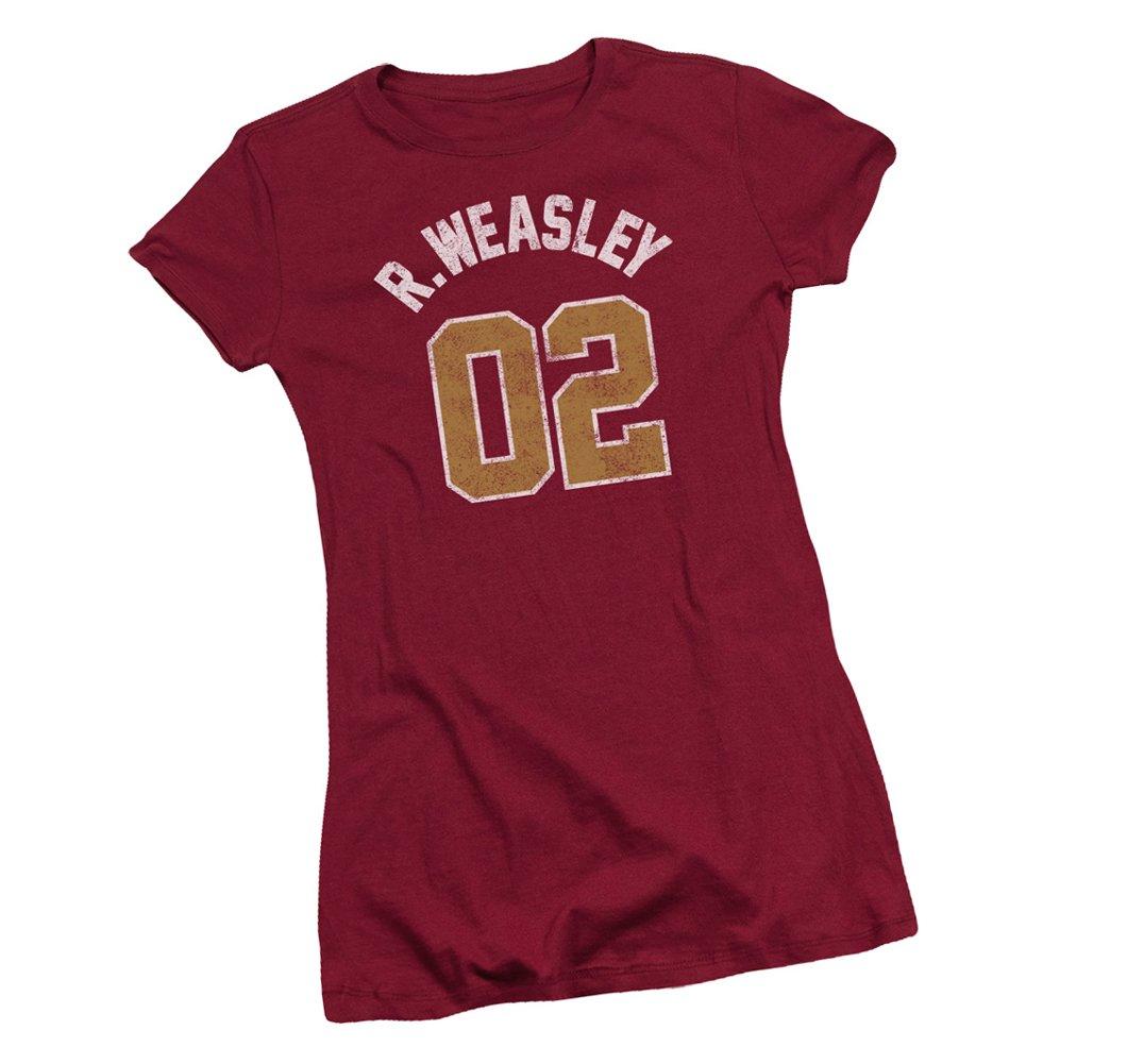 Warner Bros R Weasley Quidditch Harry Potter T Shirt 5926