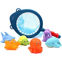 Tobeape® 7PCS Bath Toy Set Creative Funny Squirt Water Swimming Pool Fun Playing Toy for Children for party favor