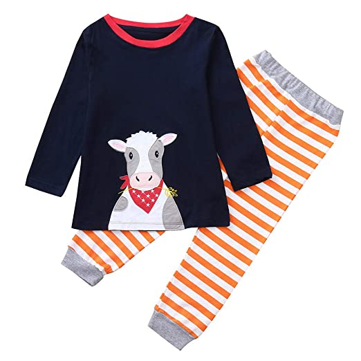 Toddler Baby Boys Girls Christmas Outfits Clothes 2-7 Years Old,Kids  Cartoon Animal - Amazon.com: Toddler Baby Boys Girls Christmas Outfits Clothes 2-7