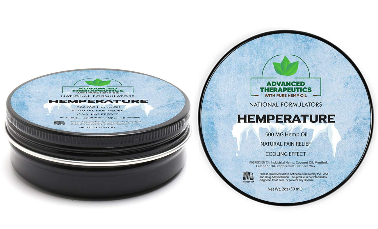500MG Hemp Oil for Pain Relief Cream for Fast Knee Pain Relief. Pain Cream-
