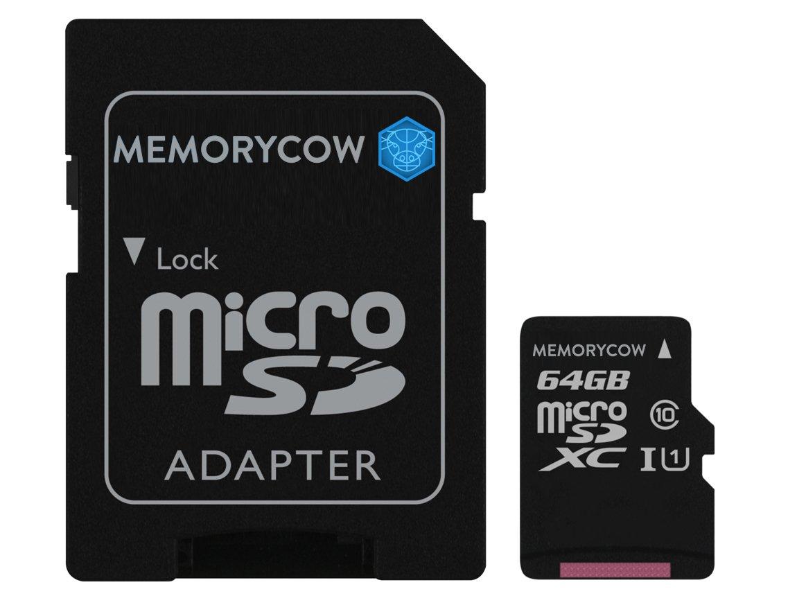 Branded Kingston 64GB microSDXC Tarjeta de Memoria para Samsung Galaxy S7y Smartphones de S7Edge
