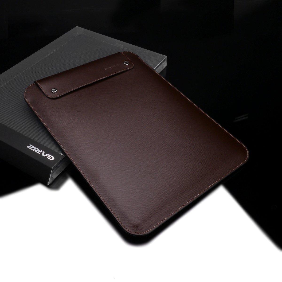 Gariz Apple iPad Pro 12.9 Leather Case Pouch PL-IPDPBR, Brown