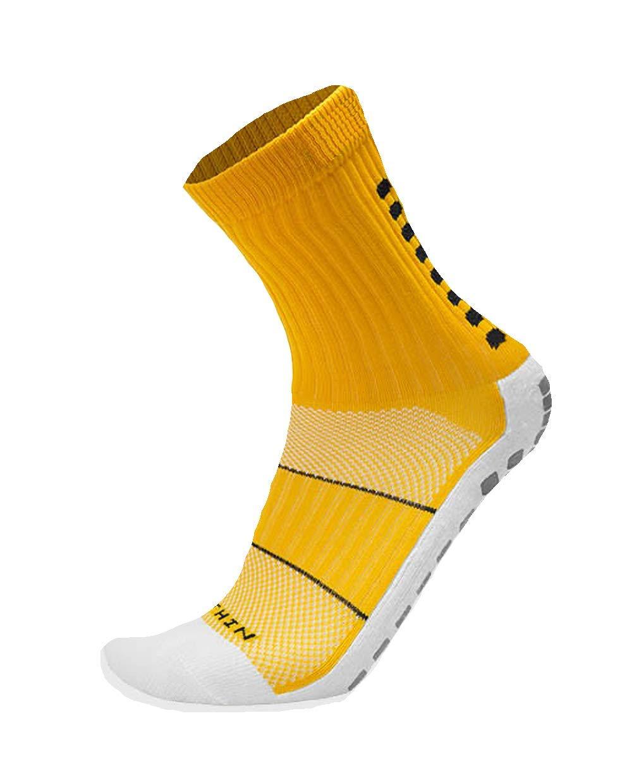 Mid-Calf Crew Anti Slip Sport Socks Many Colors Soccer Football Beesox