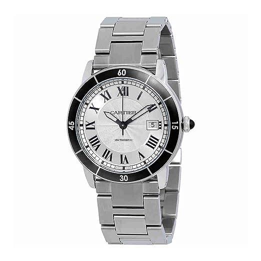 Cartier Ronde Croisiere automático Mens Reloj wsrn0010: Amazon.es: Relojes