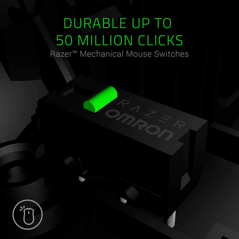 RGB Chroma fino a 19 Pulsanti Programmabili Sensore Ottico 5G da 16 000 DPI Razer Naga Trinity Mouse da Gaming MOBA//MMO con 3 Pannelli Laterali Intercambiabili