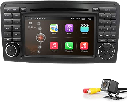 Amazon.com: Hizpo - Radio de coche para Mercedes Benz ML ...