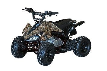 Amazon.com: Coleman Powersports AT125-B 125 cc Cuatro ruedas ...