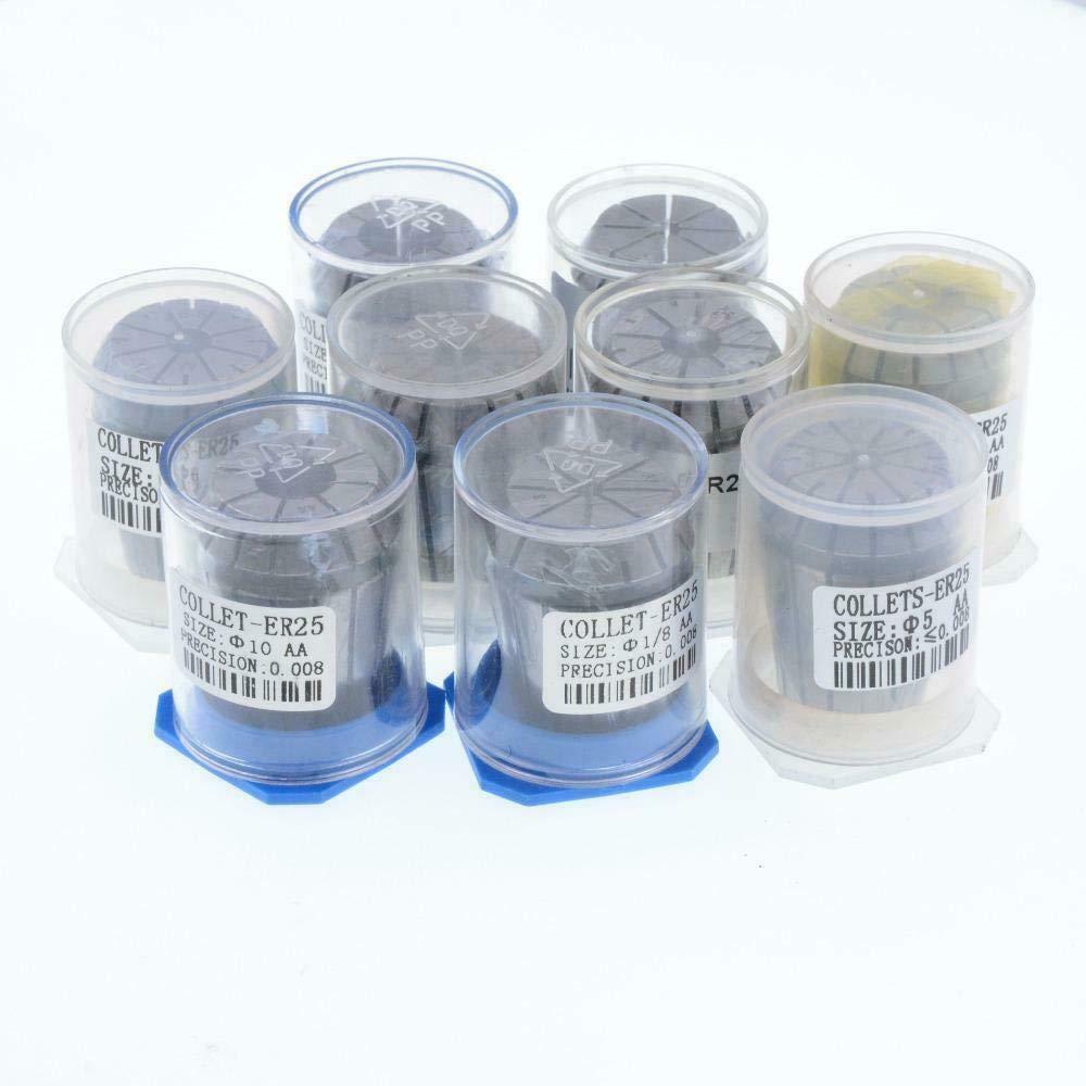 Pinza a molla ad alta precisione 0,008 CNC ER25 EU/_HOZLY ER25 ER25-2mm per tornio