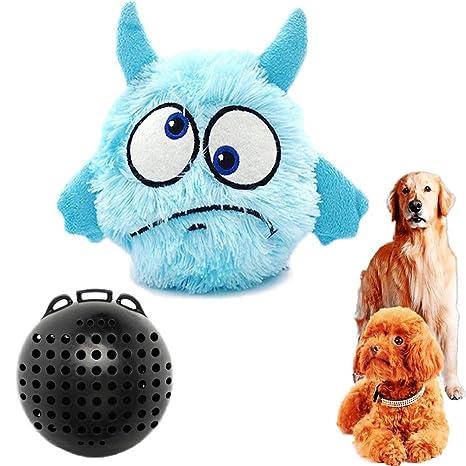 JpGdn Juguetes de Pelota para Mascotas de Peluche para Perros pequeños a medianos y Gatos para