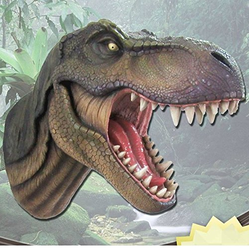 Jurassic King T-Rex Head Wall Mount (Head T-rex)