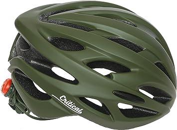 Critical Cycles Casco para Bicicleta Silas con 24 Aberturas, Unisex, Color Matte Sage Green