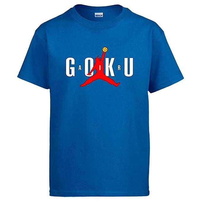 Camiseta NBA Goku - Azul, S
