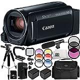 Canon VIXIA HF R800 Camcorder 13PC Accessory Bundle – Includes 64GB SD Memory Card, 3 Piece Filter Kit (UV, CPL, FLD), More - International Version (No Warranty) -  SSE