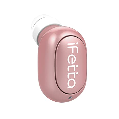 Mini auriculares Bluetooth, Ifecco In-ear Auriculares inalámbricos más pequeños con micrófono Llamadas manos