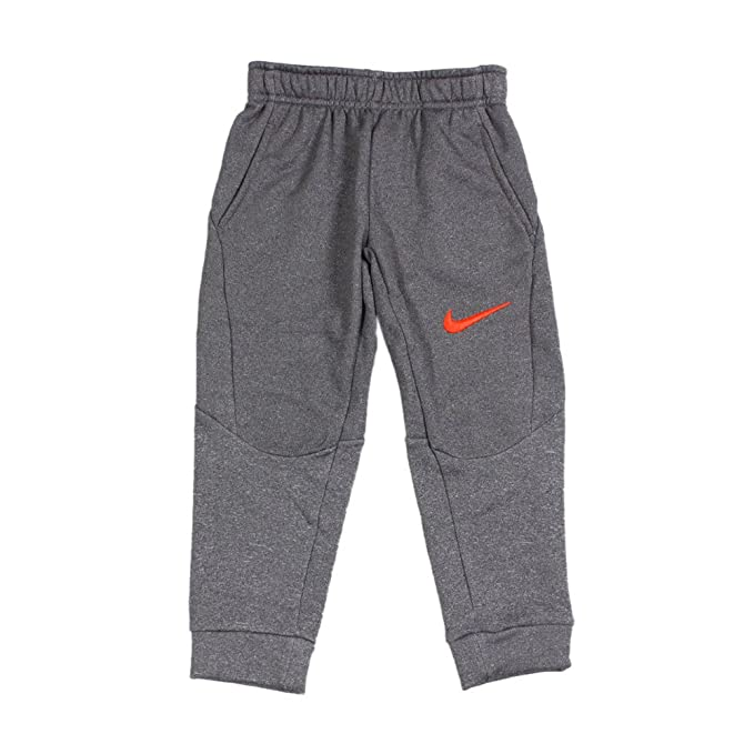 1b458580de7dc Amazon.com: Nike Little Kids Tapered Therma-FIT Fleece Pants (Dark ...