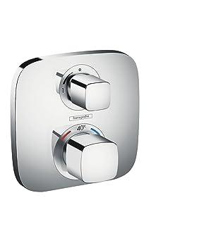 Hansgrohe 15707000 Ecostat E termostato con llave de paso, empotrado, cromo: Amazon.es: Bricolaje y herramientas
