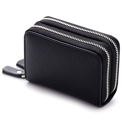 888d484686f3 MuLier RFID Blocking Anti-theft Womens Leather Card Holder Accordion ...