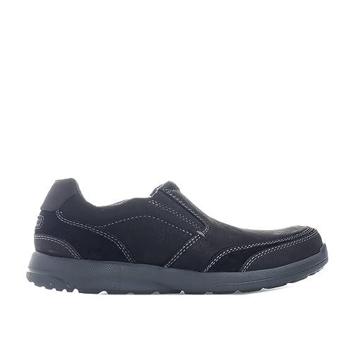 Rockport Mocasines Para Hombre, Color Negro, Talla 39: Rockport: Amazon.es: Zapatos y complementos