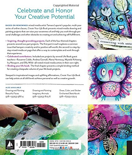 Create Your Life Book Mixed Media Art Projects For Expanding Creativity And Encouraging Personal Growth Tamara Laporte 9781631593536 Amazon Books