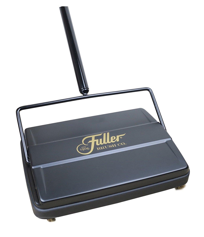 Fuller Brush Electrostatic Carpet & Floor Sweeper - 9'' Cleaning Path - Black by Fuller Brush