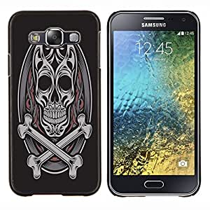 Dragon Case - FOR Samsung Galaxy E5 E500 - Life is like music - Caja protectora de pl??stico duro de la cubierta Dise?¡Ào Slim Fit