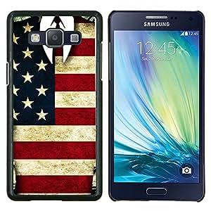 EJOOY---Cubierta de la caja de protección para la piel dura ** Samsung Galaxy A5 A5000 ** --Hombre Americano
