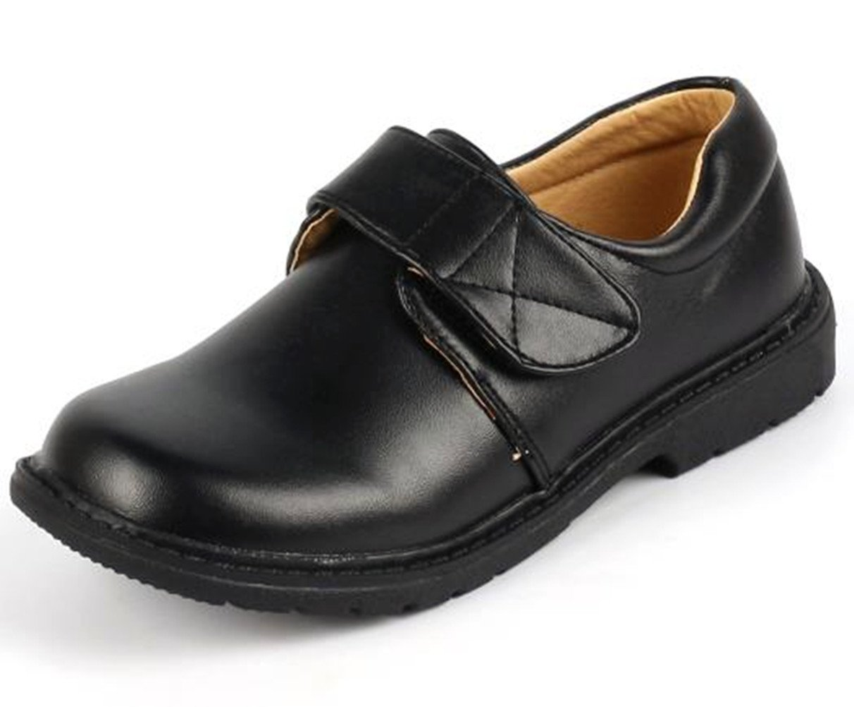 DADAWEN Boy's Strap School Uniform Dress Shoe (Toddler/Little Kid/Big Kid) 71199LT