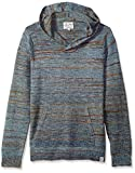 Lucky Brand Men's Los Cabos Baja Pullover Hooded Sweatshirt, Blue/Multi, L