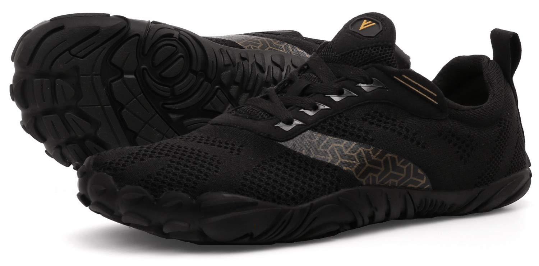sneakers discount half off JOOMRA Women Minimalist Running Shoes Barefoot Wide Walking Athletic  Climbing Crossfit Lightweight Hiking Trekking 5 Toes Gym Workout Sneakers  Black ...