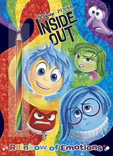 Rainbow of Emotions (Disney/Pixar Inside Out) (Color Plus Rainbow Pencil) (Colors And Emotions compare prices)