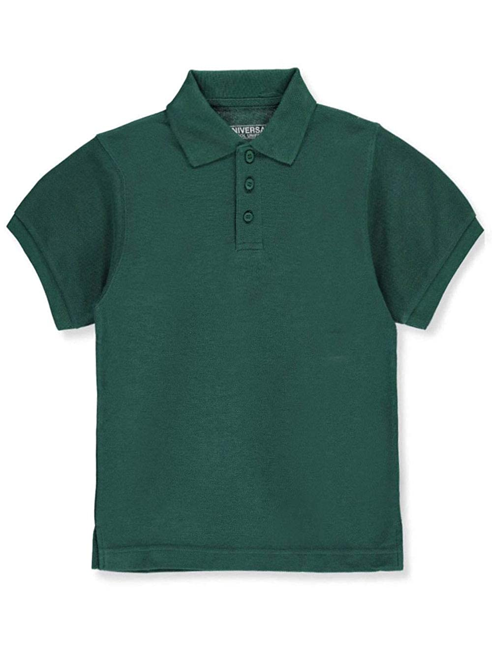 Universal School Uniforms Childrens Short Sleeve Pique Polo Shirt Many Colors Available