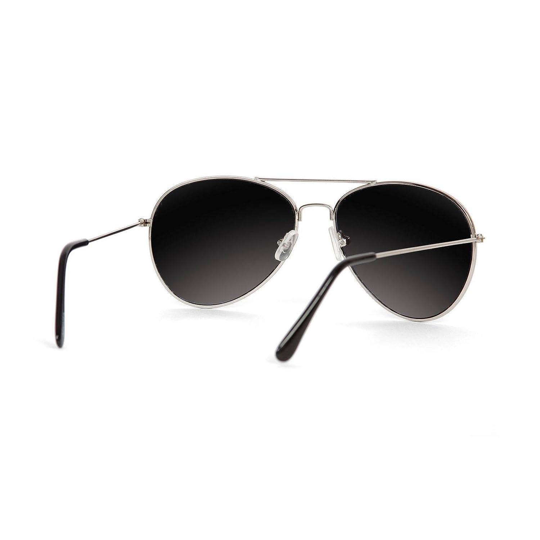 e31fbf5717 Amazon.com  Gravity Shades Aviator Mirrored Lens Curved Sunglasses ...