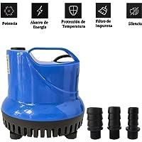 Homvik Bomba de Agua Sumergible 1800L/H 25W