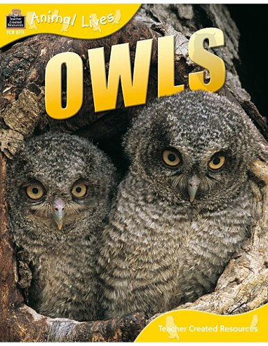 - Animal Lives: Owls (Qeb Animal Lives)