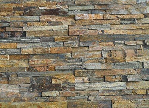 Natural Stone Stacked Wall Siding  Slate  China Multi