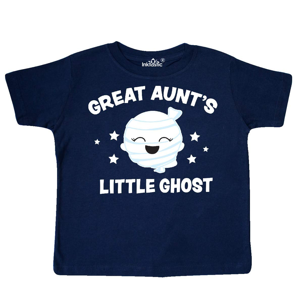inktastic Cute Great Aunts Little Ghost with Stars Toddler T-Shirt