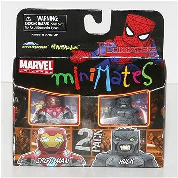 Marvel MiniMates Series 27 Mini Figure 2-Pack Ultimate Hulk and ...
