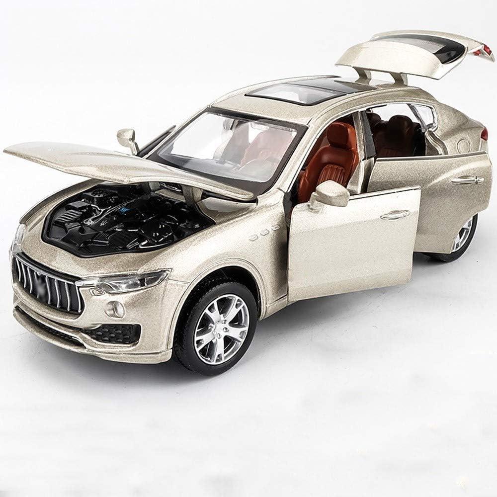 Pkjskh Volver Buggy Modelo de la aleación de la puerta abierta con la luz Car Sound and Light Tire modelo de chico y chica de la aleación del metal de coches de juguete Simular Simular la Infancia tir
