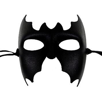 Antifaz Batman negro - mascara veneciana para los hombres - Superior Calidad italiana Hecho